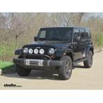 Trailer Hitch Installation - 2012 Jeep Wrangler Unlimited - Draw-Tite