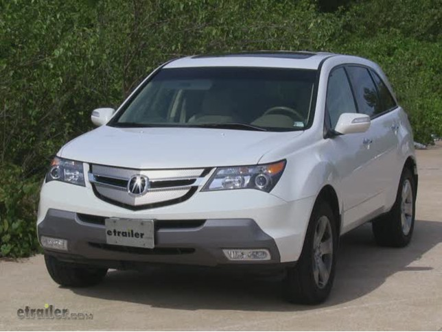 draw tite custom fit vehicle wiring for acura mdx 2007. Black Bedroom Furniture Sets. Home Design Ideas