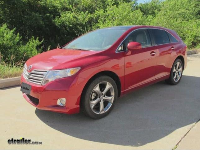 Tow ready custom fit vehicle wiring for toyota venza