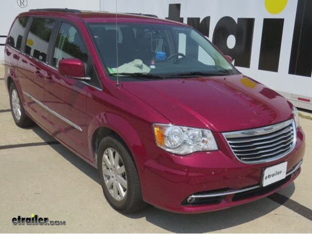 curt custom fit vehicle wiring for chrysler town and