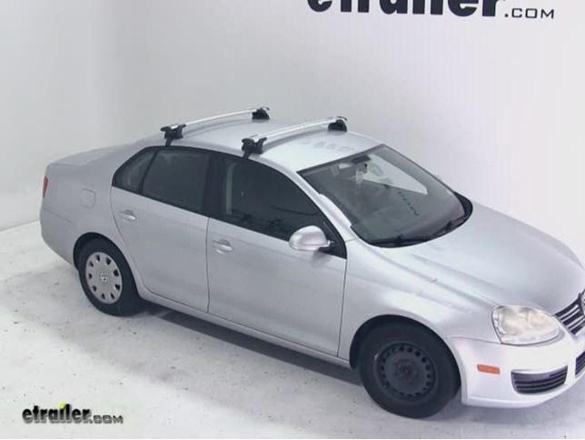 Roof Rack For Volkswagen Jetta Sportwagen 2014 Etrailer Com