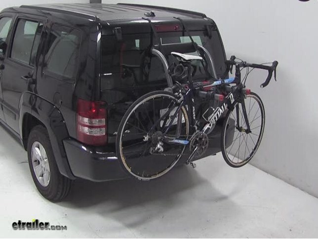 trunk bike racks for 2012 jeep grand cherokee yakima y02624. Black Bedroom Furniture Sets. Home Design Ideas