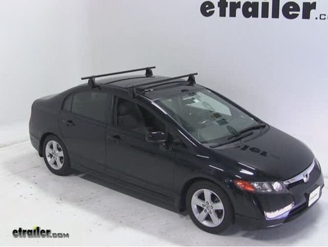 Yakima Roof Rack For Honda Civic 2007 Etrailer Com
