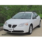 Yakima Q Tower Roof Rack Installation - 2009 Pontiac G6