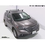 Yakima Q Tower Roof Rack Installation - 2012 Honda CR-V