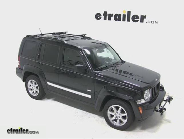 Yakima Roof Rack For 2012 Liberty By Jeep Etrailer Com