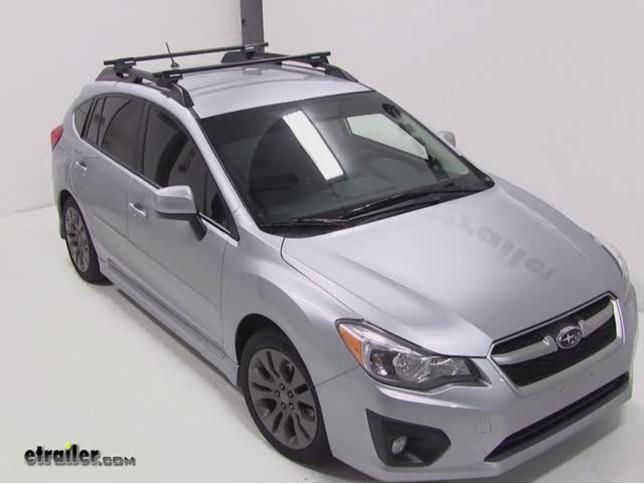 Yakima Roof Rack For 2003 Subaru Forester Etrailer Com