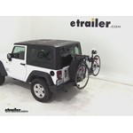 Yakima SpareTime Spare Tire Mount Bike Rack Review - 2012 Jeep Wrangler