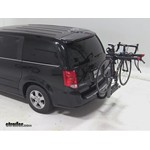 Yakima SwingDaddy 4 Hitch Bike Rack Review - 2012 Dodge Grand Caravan