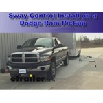 Dual Cam High Performance Sway Control Installation