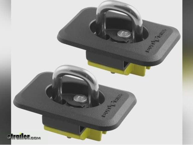 Erickson Heavy Duty Bull Ring Retractable Anchor 2 Pack