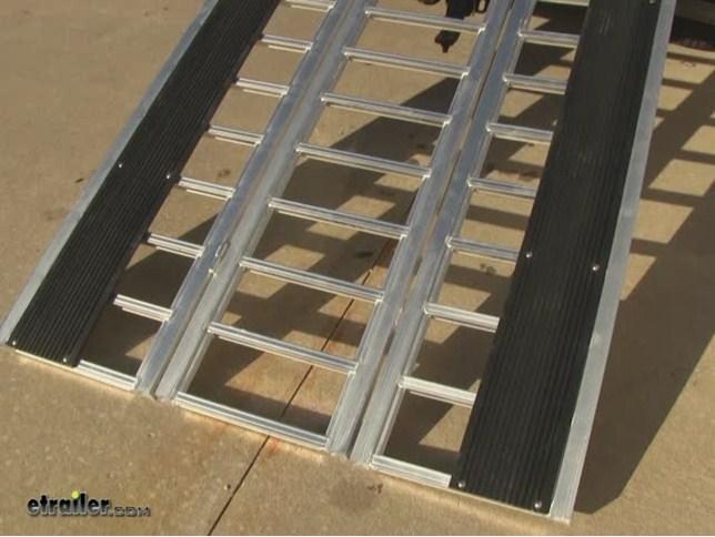 Erickson Straight 3 Piece Hinged Aluminum Ramp Tri