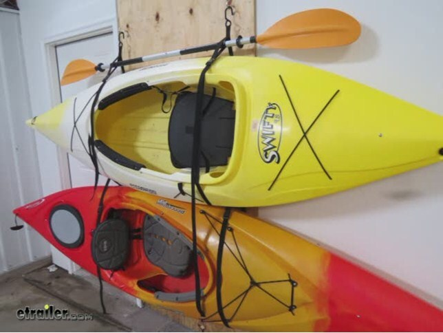Gear Up Hang 2 Deluxe Kayak Strap Storage System 2