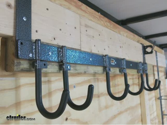 Compare Rack'em 6-Hook Vs Shelf Kit For Enclosed