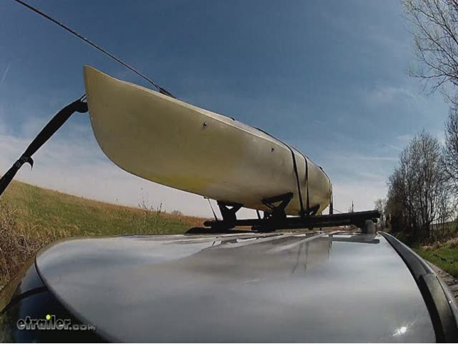 Rhino Rack Nautic Roof Kayak Carrier W Tie Downs Side