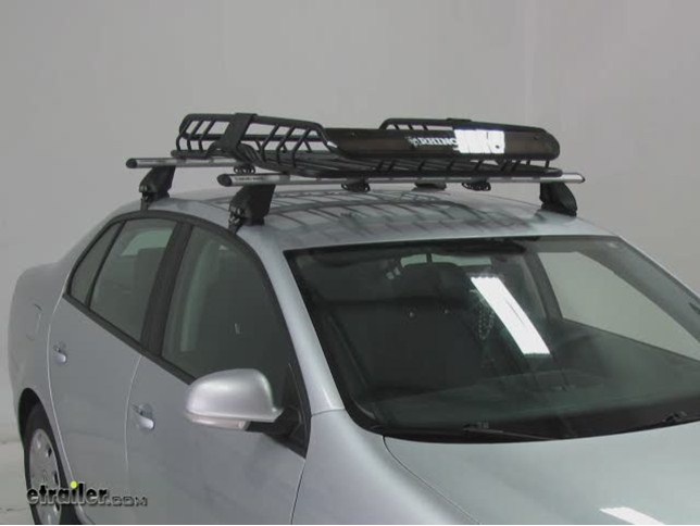 Rhino Rack Roof Mounted Steel Cargo Basket 47 Quot Long X 35
