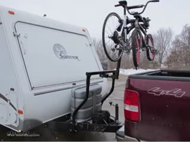 Stromberg Carlson Bike Bunk Trailer Mounted Bike Rack