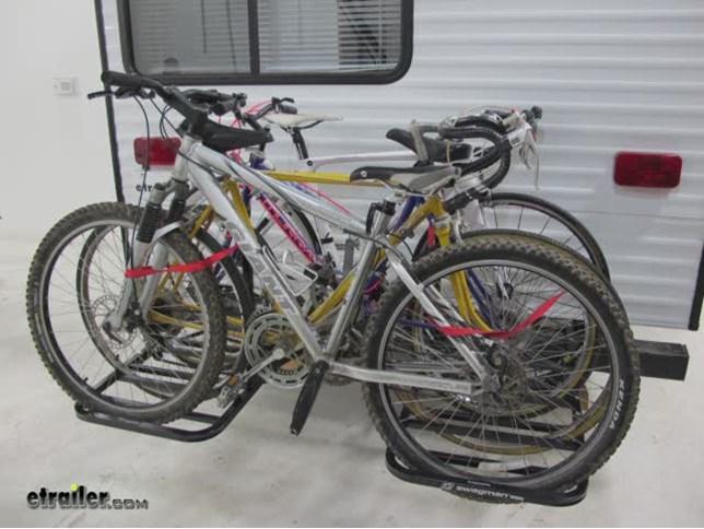 Compare Swagman 4 Bike Vs Rv Bumper 2 Bike Etrailer Com