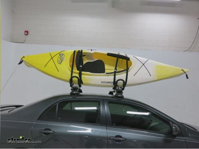 Swagman Contour Rooftop Kayak Carrier System With Tie