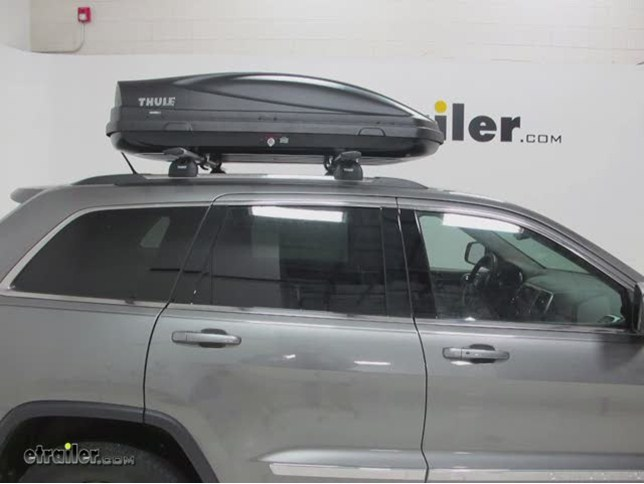 Thule Force Xl Rooftop Cargo Box 17 Cu Ft Aeroskin