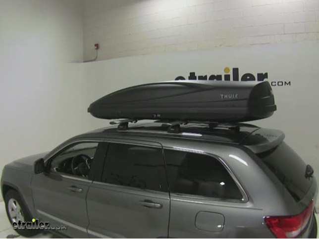 Thule Force Xxl Rooftop Cargo Box 21 Cu Ft Aeroskin Black Thule Roof Cargo Carrier Th626