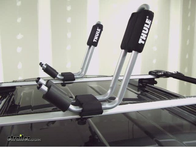 Thule Hull A Port J Style Rooftop Kayak Carrier Thule