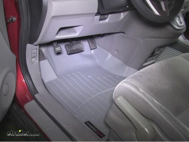 Weathertech Front Auto Floor Mats Gray Weathertech Floor