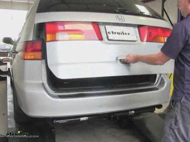 Install Trailer Wiring Harness Honda Odyssey : How to install towing wiring harness on honda pilot