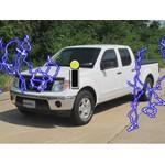nissan frontier trailer wiring etrailer