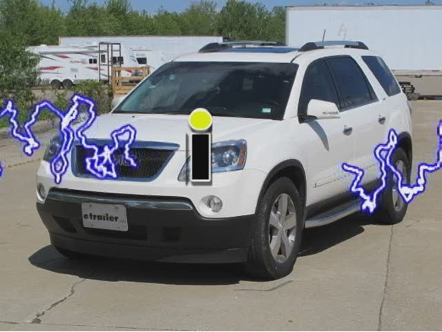 Trailer Wiring Harness For 2010 Gmc Acadia : Tow ready custom fit vehicle wiring for gmc acadia