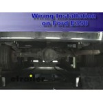 Trailer Wiring Harness Adapter Installation - 2006 Ford E350 Van