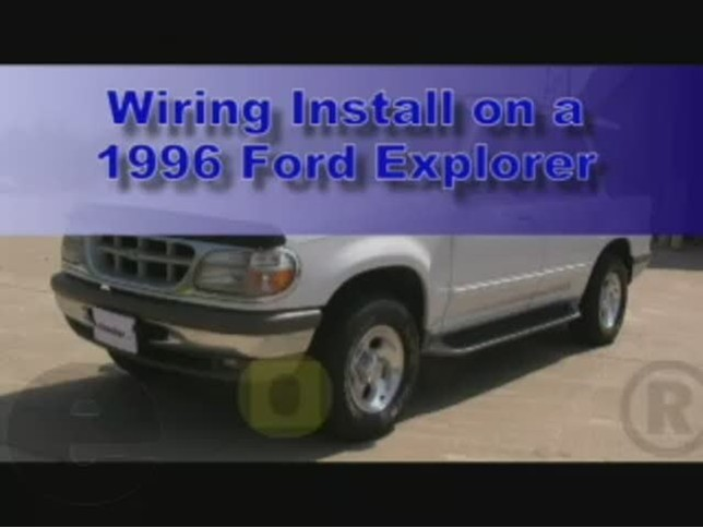 custom fit vehicle wiring by tow ready for 1996 explorer. Black Bedroom Furniture Sets. Home Design Ideas