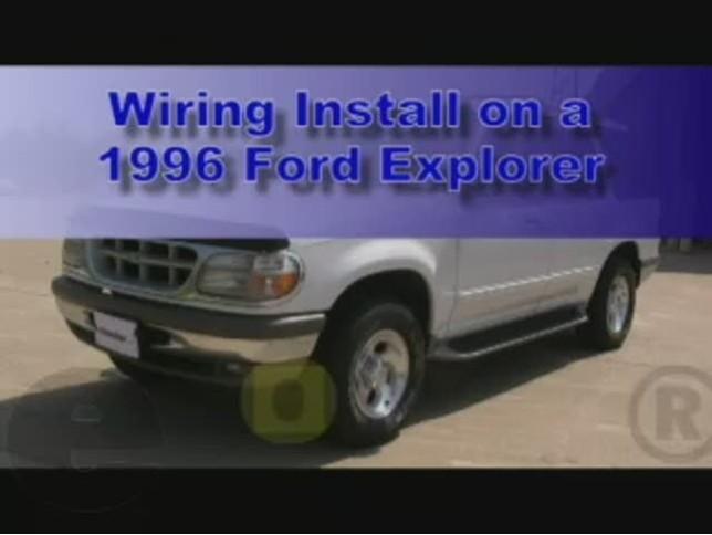 Color Diagram 2001 Ford Explorer Radio Wiring Diagram 2001 Ford Ranger