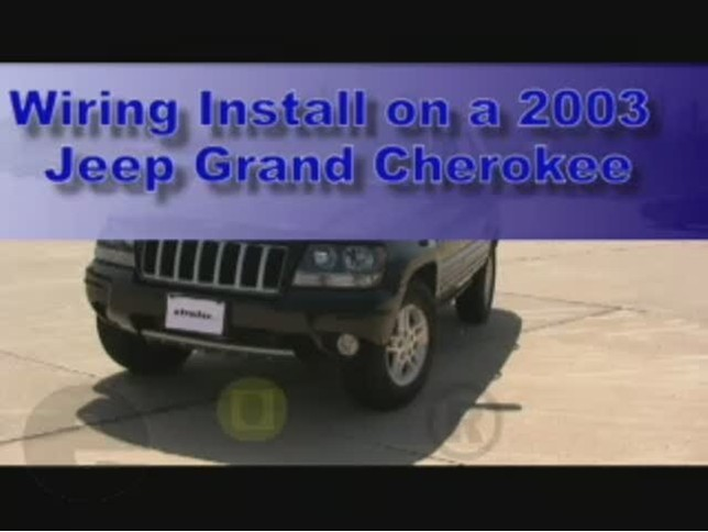 custom fit vehicle wiring by tow ready for 2003 grand cherokee 118369. Black Bedroom Furniture Sets. Home Design Ideas