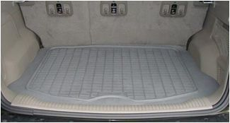 All Weather Mat in a Jeep Liberty