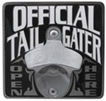 "Official Tailgater Bottle Opener 2"" Trailer Hitch Receiver Cover"