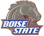 "Boise State 2"" Trailer Hitch Receiver Cover"