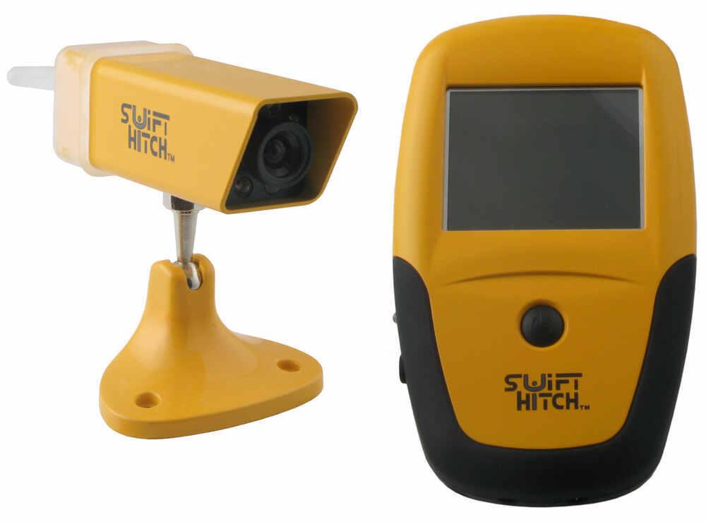 Backup camera for travel trailer