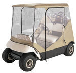 Classic Accessories Travel 4-Sided Golf Cart Enclosure - Tan
