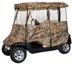 Classic Accessories Deluxe 4 - Sided Golf Cart Enclosure - AP HD Camo