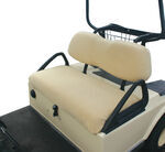 Classic Accessories Golf Cart Seat Cover - Sand by Fairway Line