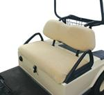 Classic Accessories Golf Cart Seat Cover - White by Fairway Line