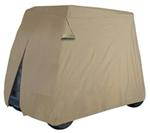 Classic Accessories 4 Passenger Golf Cart Easy-On Cover - Tan