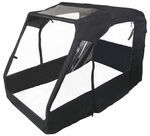 Classic Accessories ATV Cabin - 4-Wheel ATVs With Racks Black