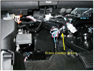 Aftermarket Brake Control Wiring for 07 Current GM Full