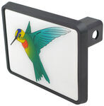 "Hummingbird Trailer Hitch Receiver Cover for 1-1/4"" Hitches"