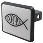 "Christian Fish Trailer Hitch Cover for 1-1/4"" Trailer Hitches"