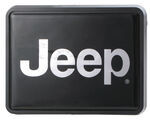 "Jeep Trailer Hitch Receiver Cover for 1-1/4"" Trailer Hitches"