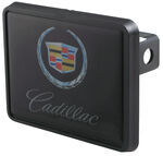 "Cadillac Trailer Hitch Receiver Cover for 1-1/4"" Hitches"