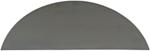 "Pre-Cut Fender Back for Redneck Trailer Fender F9X32-1R - 10-1/2"" Wide"